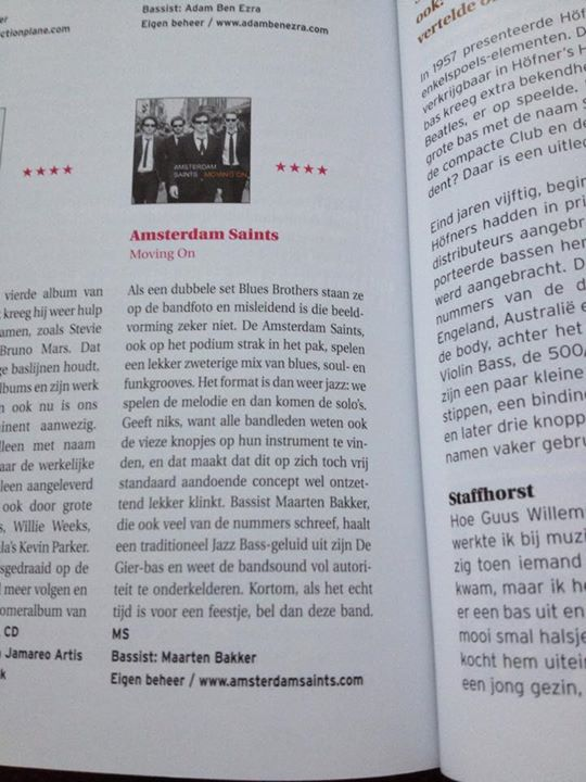 Bassist Review Moving On